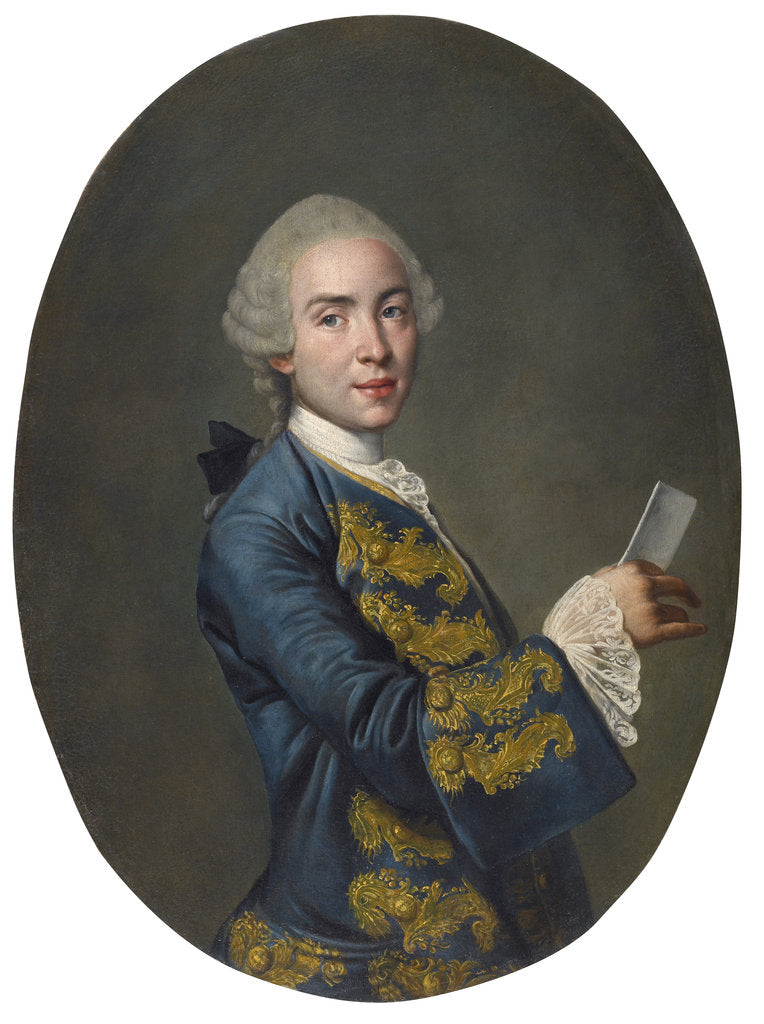 Portrait of a young man, ca 1760