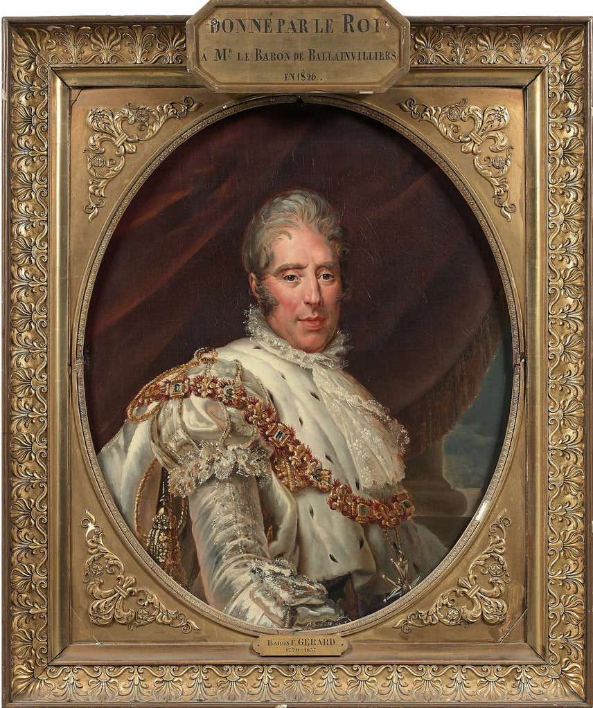 Portrait of King Charles X of France