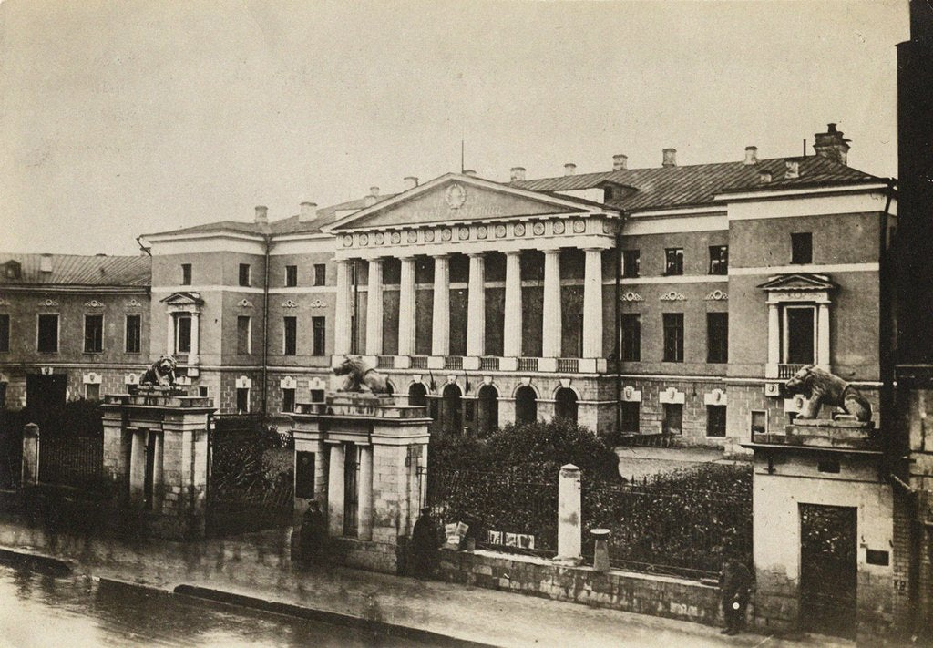 The Moscow English club on Tverskaya Street, Early 1920s