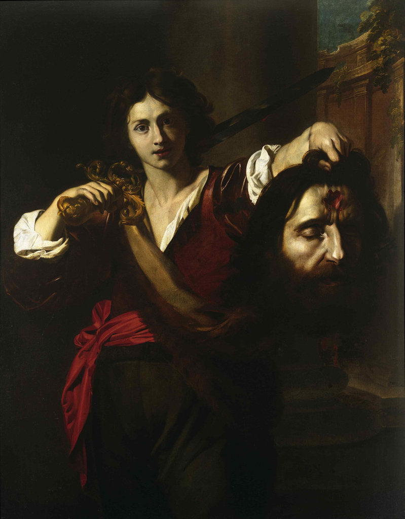 David with the Head of Goliath, ca. 1628-1629