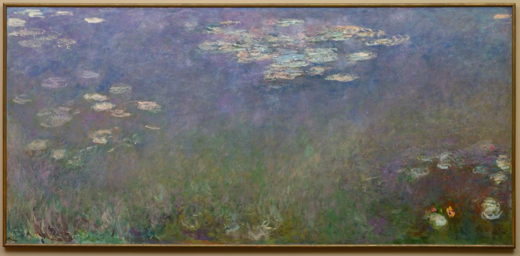 Detail of Water Lilies, c. 1915-26 by Claude Monet