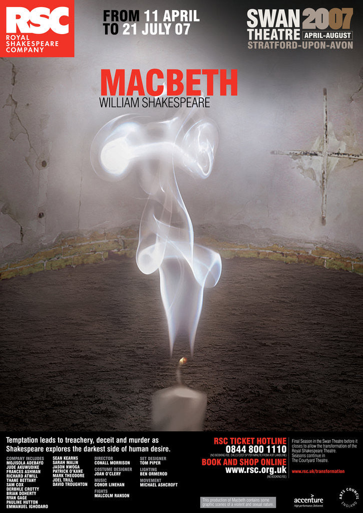 Macbeth, 2007 by Conall Morrison