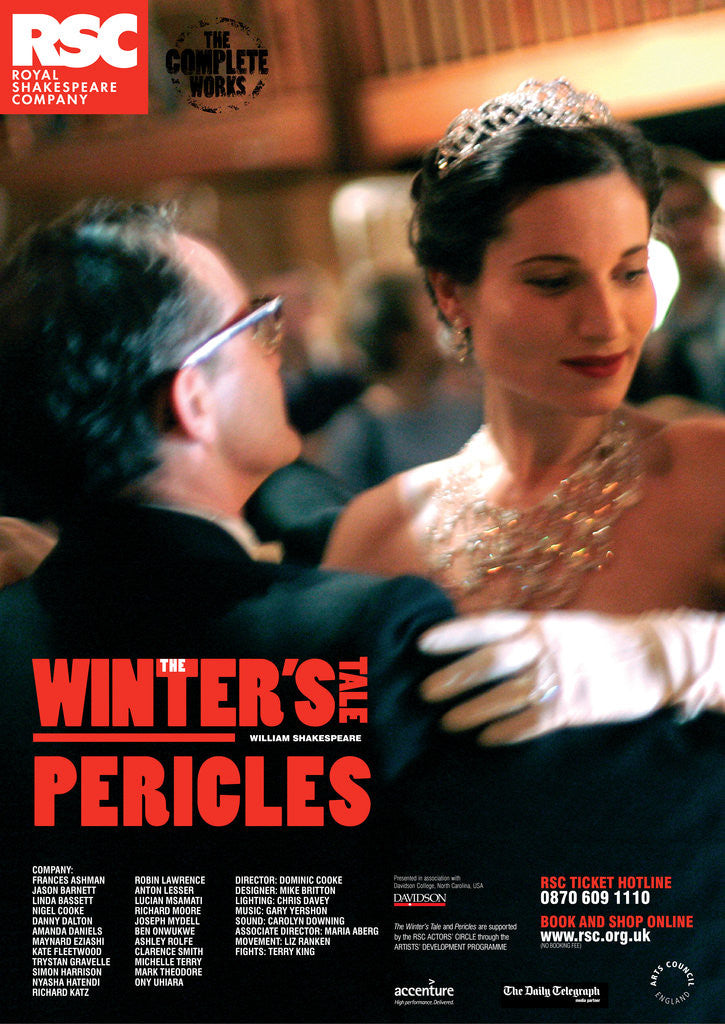 Detail of The Winter's Tale / Pericles, 2006/7 by Dominic Cooke