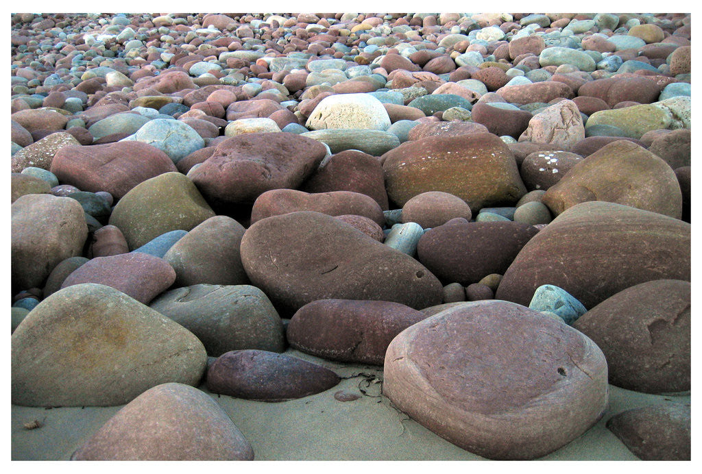 Detail of Pebbles II by Paul Walker