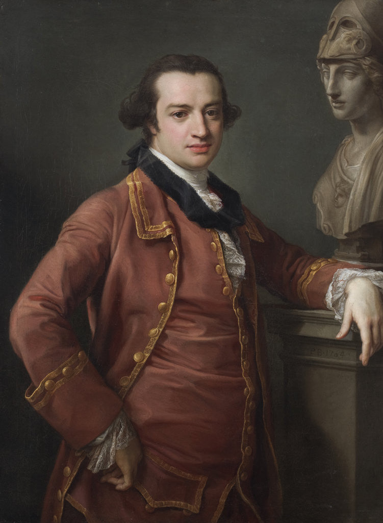 Detail of Portrait of John Monck by Pompeo Batoni