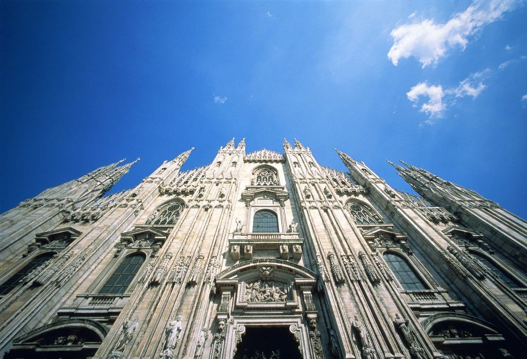 Detail of Duomo of Milano by Corbis