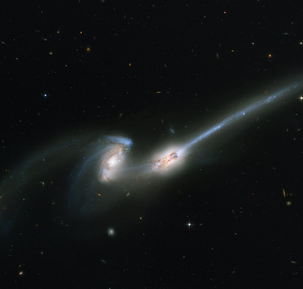 Detail of Two Merging Galaxies by Corbis