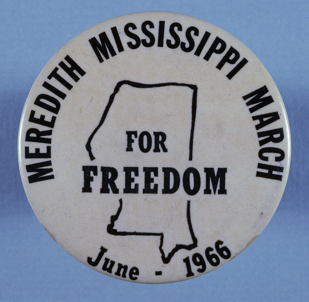 Meredith Mississippi March Button