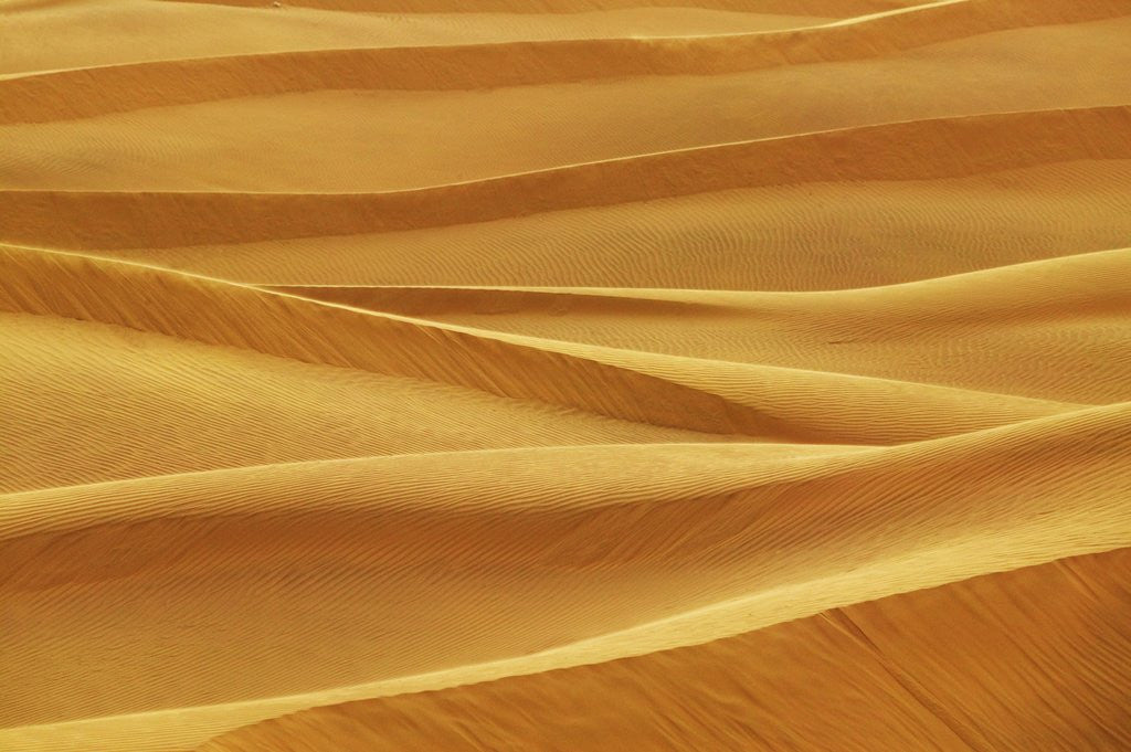 Detail of Sam Sand Dunes by Corbis
