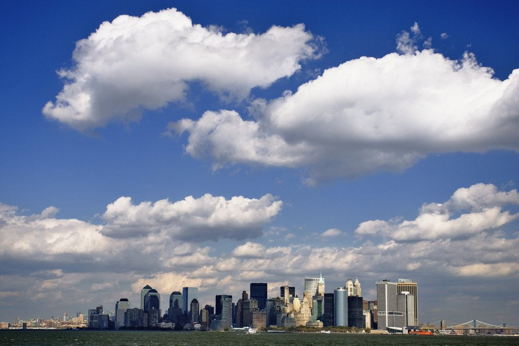Lower Manhattan Skyline by Corbis