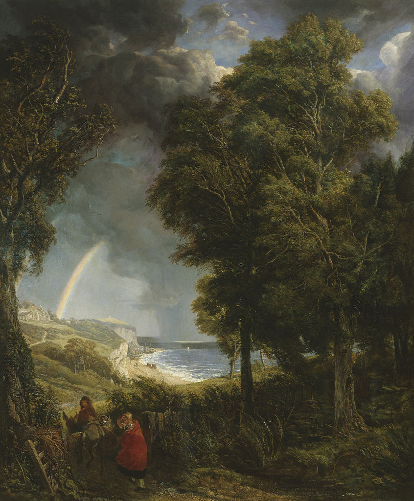 Detail of Caught in a Storm, St. Margaret's Bay by John James Chalon