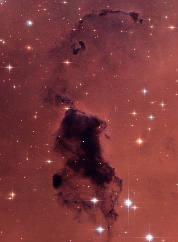 Detail of Gas and Dust in NGC 281 Galaxy Cluster by Corbis