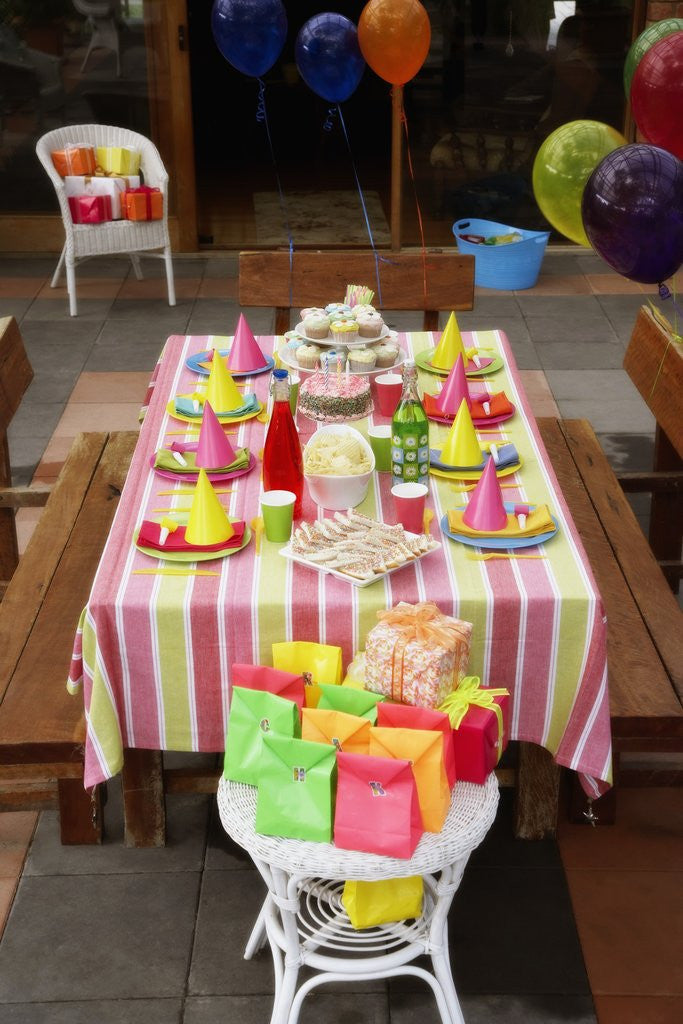 Detail of Children's Birthday Party by Corbis