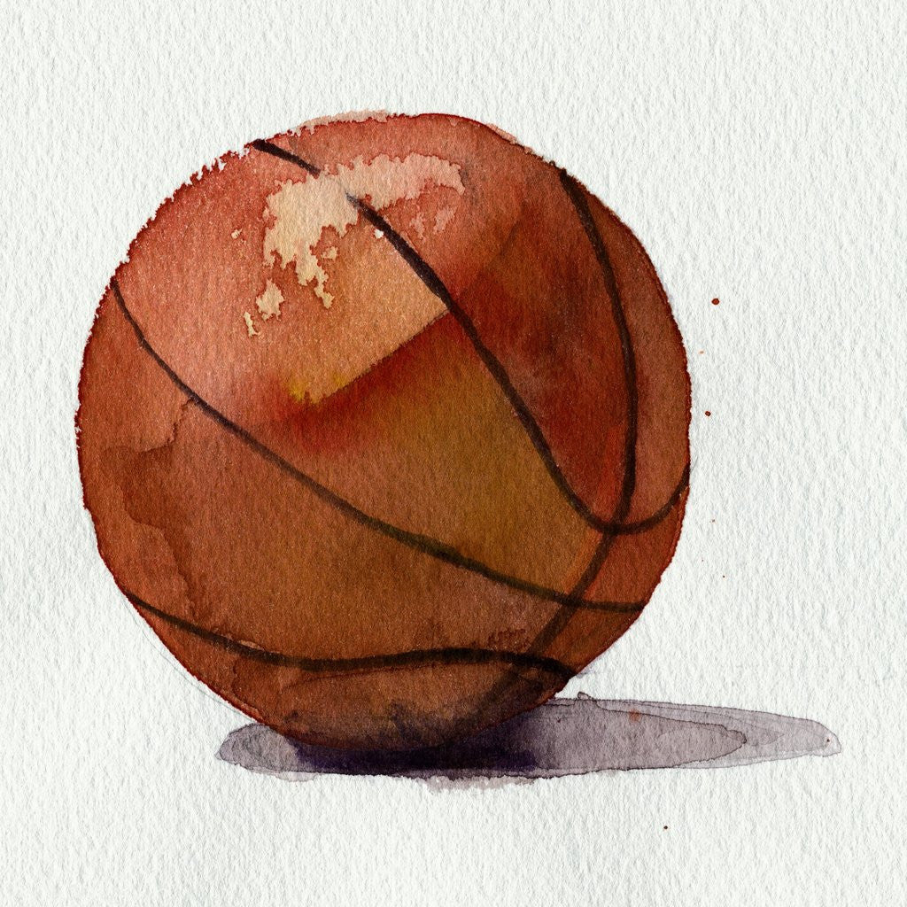 Detail of Basketball by Corbis