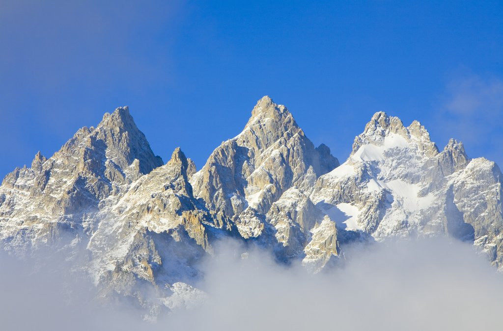 Detail of Grand Teton Range by Corbis