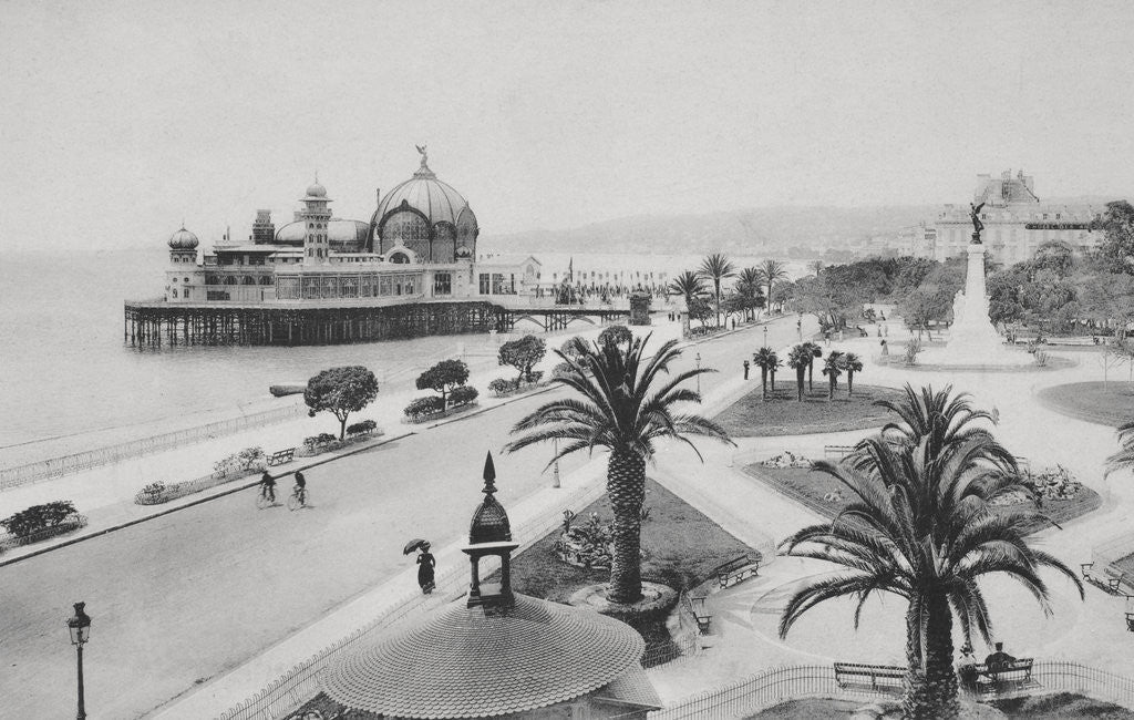 Detail of Pier and Promenade des Anglais, Nice by Corbis