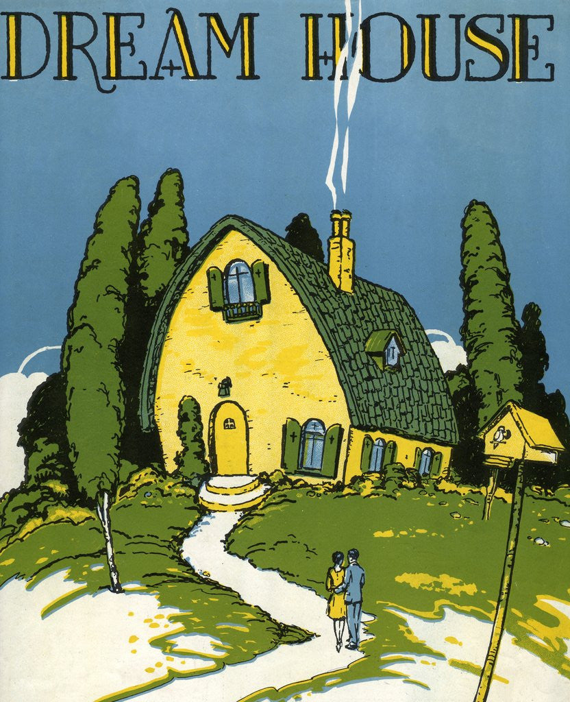 Detail of Dream House Sheet music cover by Corbis