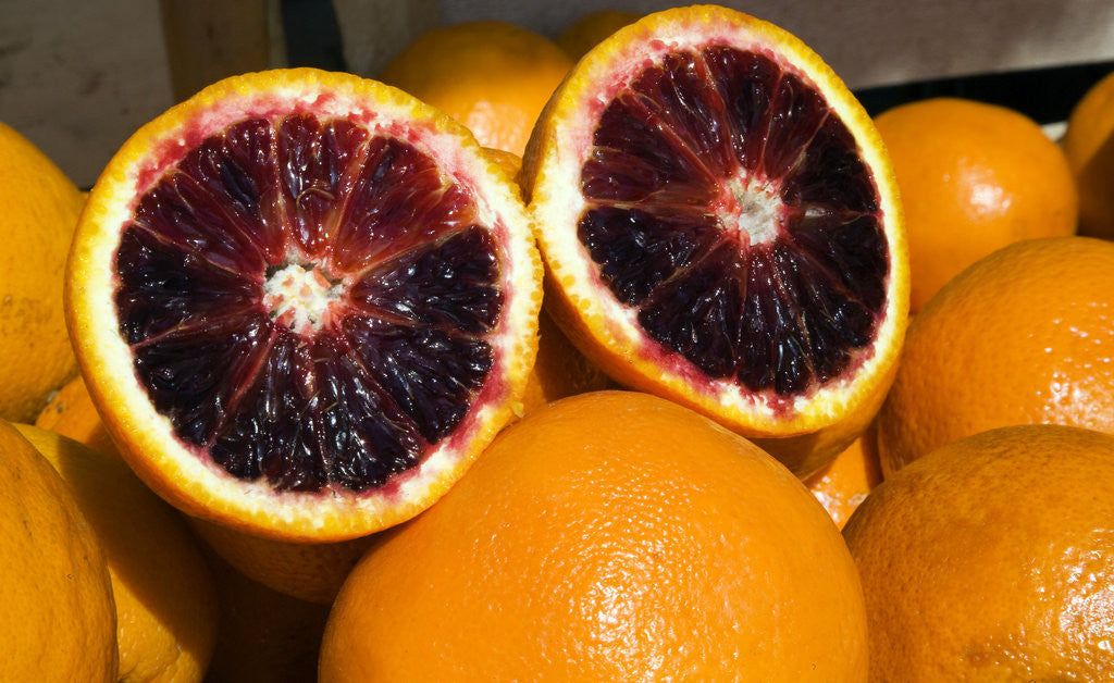 Detail of Grapefruit in Campo dei Fiori by Corbis