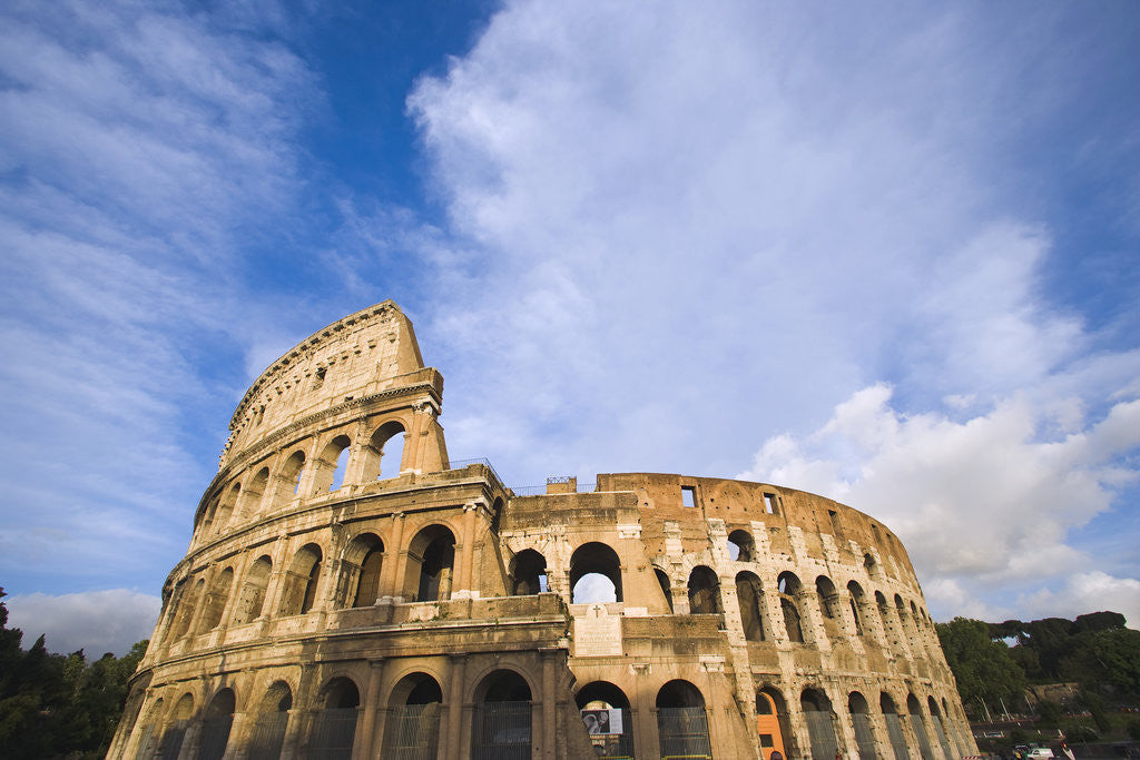 Detail of The Colosseum by Corbis
