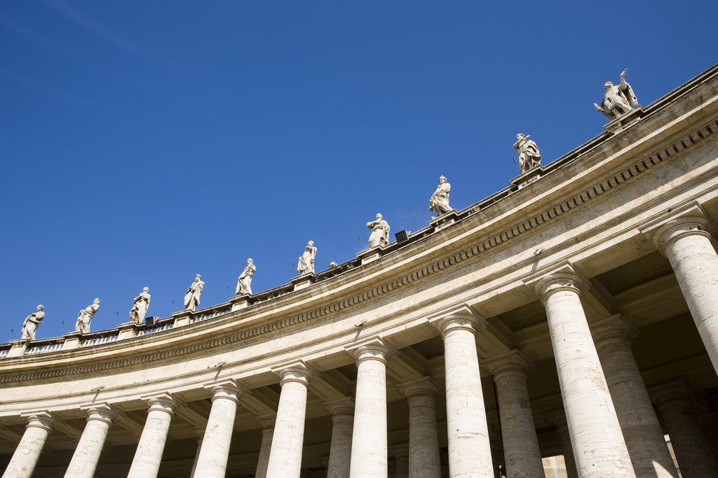 Detail of Saint Peter's Cathedral by Corbis