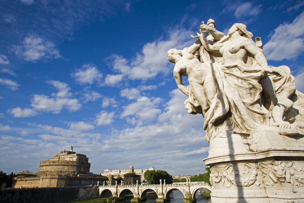 Detail of Castel Sant'Angelo by Corbis