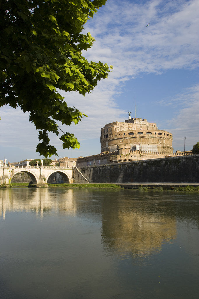 Detail of Tiber River by Corbis