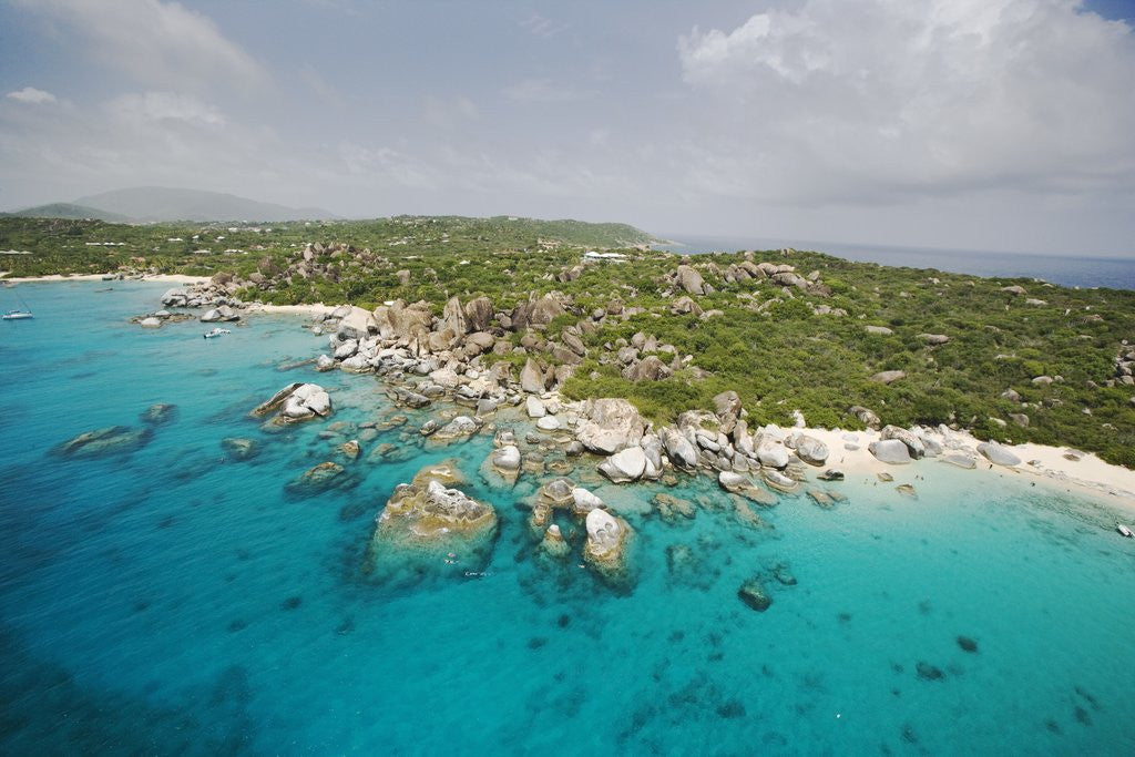 Rock Formations at The Baths on Virgin Gorda by Corbis