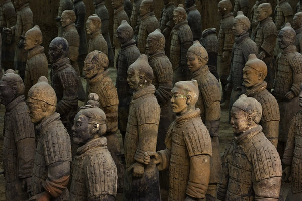 Terracotta Warrior Statues In Qin Shi Huangdi Tomb Posters