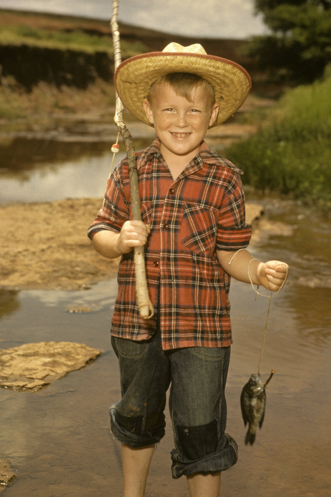 Old Fashioned Fishing Hat