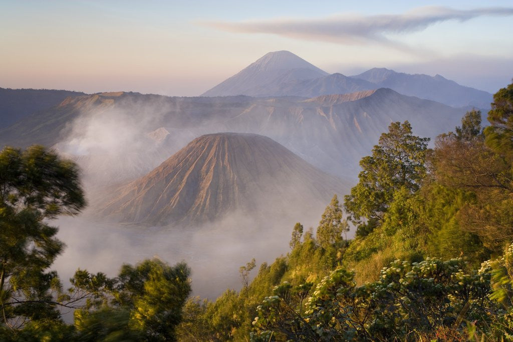 Detail of Bromo Volcano in Bromo-Tengger-Semeru National Park by Corbis