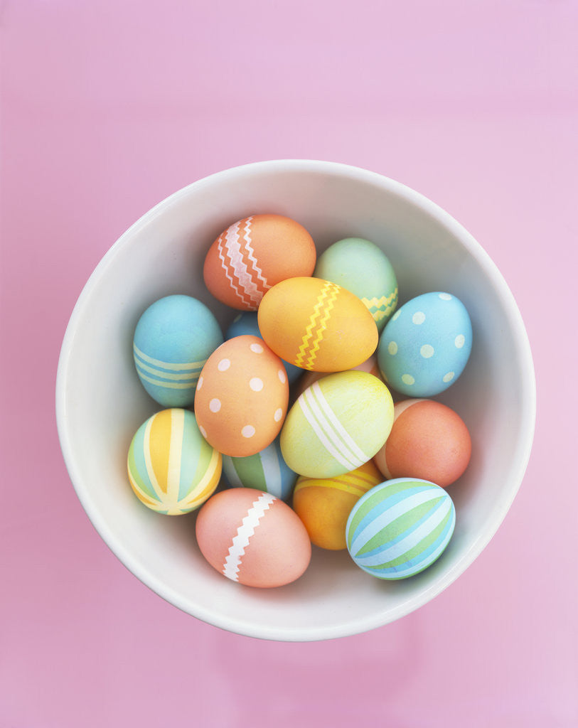 Detail of Easter Eggs by Corbis