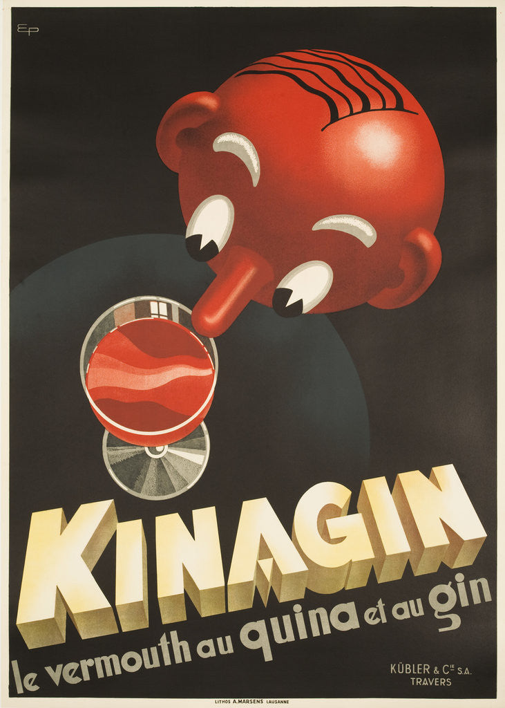Detail of Kinagin Poster by E. Patke