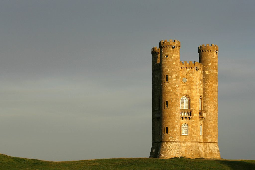 Detail of Broadway Tower standing prominently in the Cotswolds by Corbis