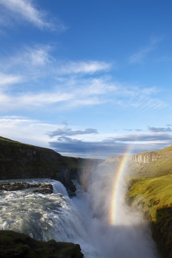 Detail of Gullfoss Waterfall, Iceland by Corbis