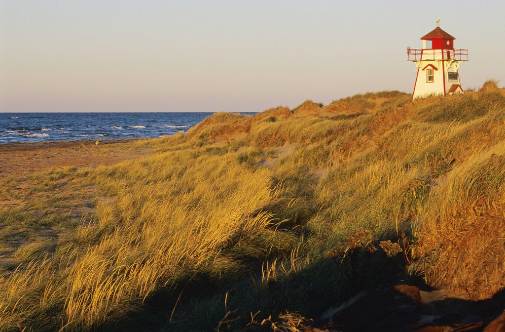 Cove Head Lighthouse, Prince Edward Island National Park, Prince Edward Island, Canada by Corbis