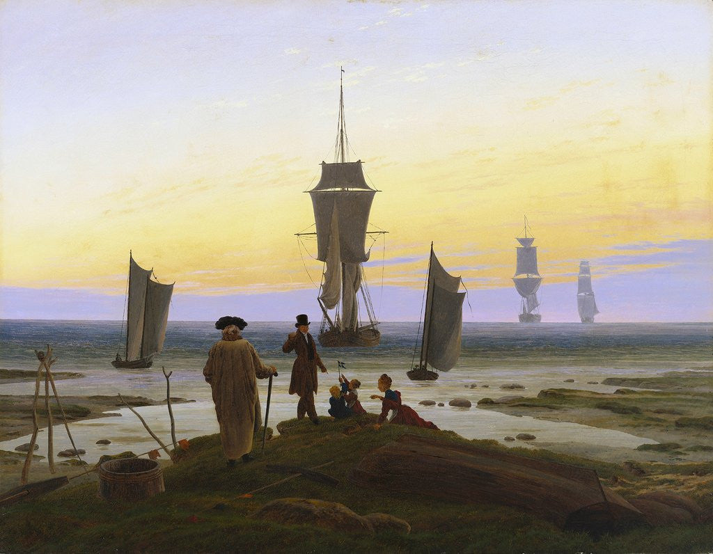 Detail of The Stages of Life by Caspar David Friedrich