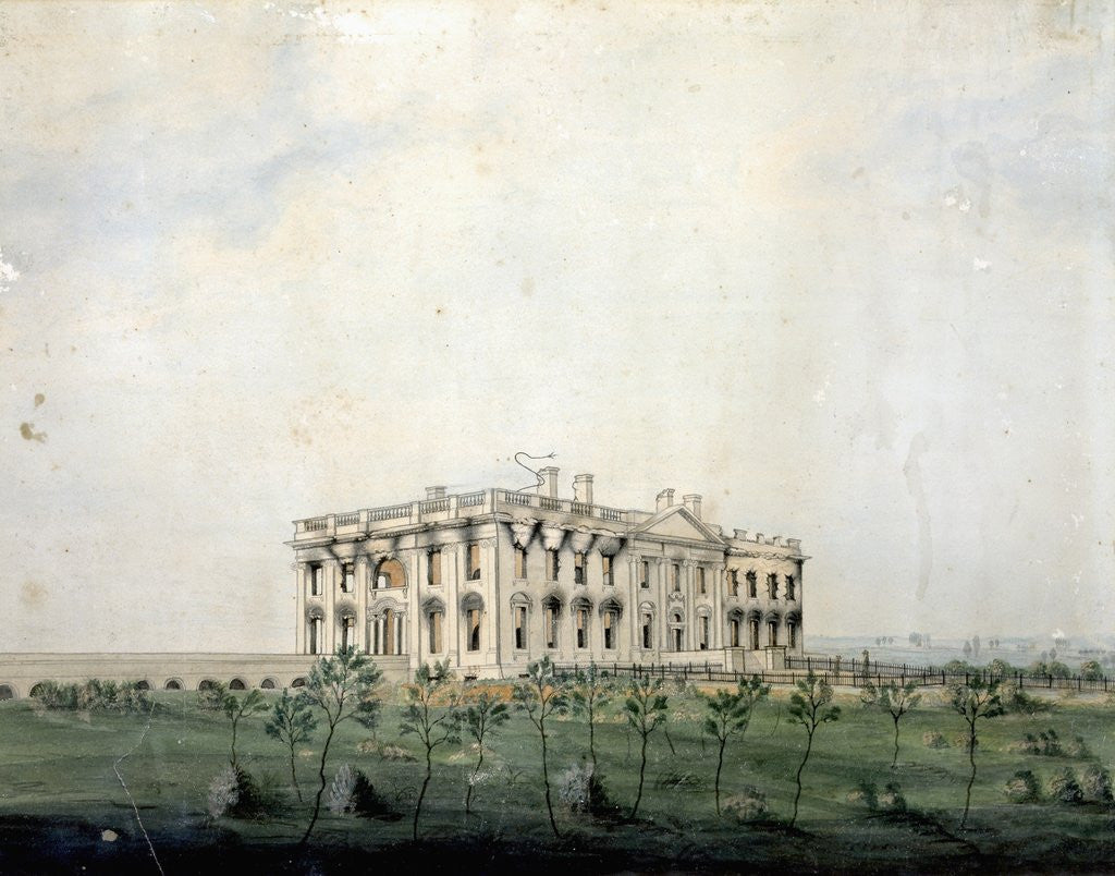 Detail of The President's House by George Munger