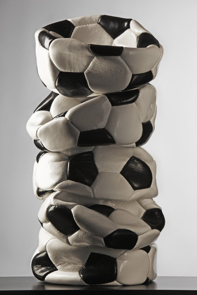 Detail of Soccer ball by Corbis