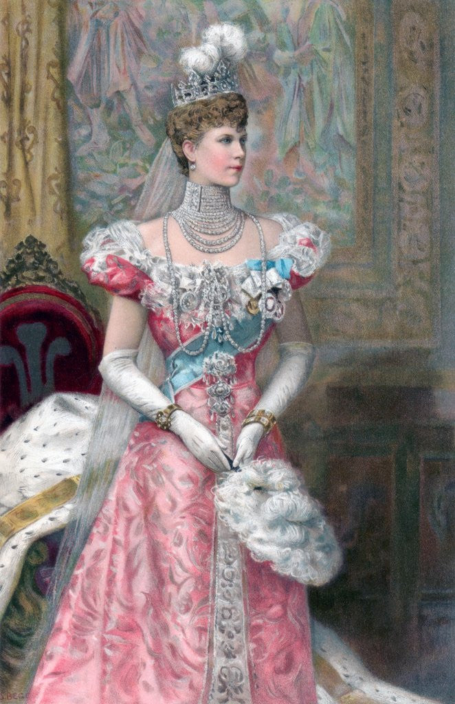 Detail of Princess of Wales by Corbis