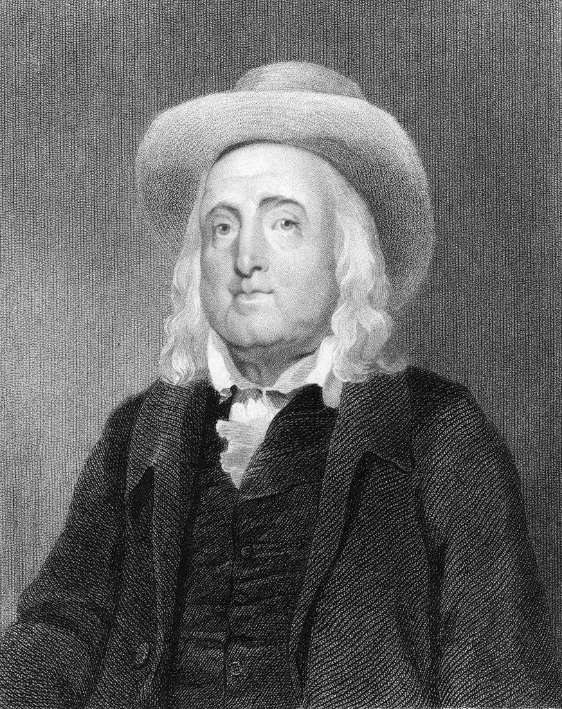 Detail of Jeremy Bentham by Corbis