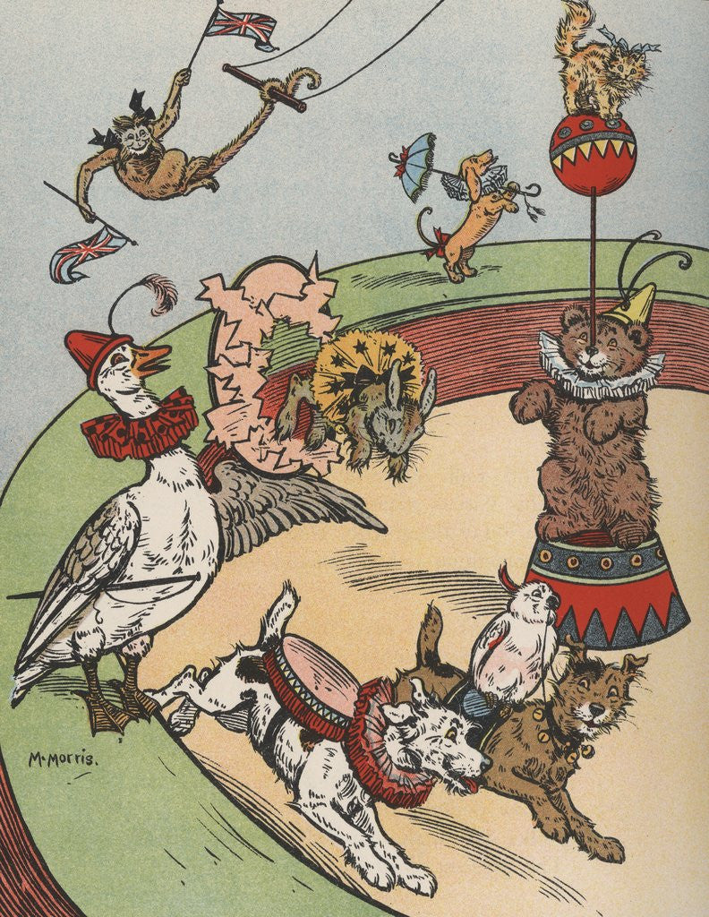 Detail of Circus animals by Corbis