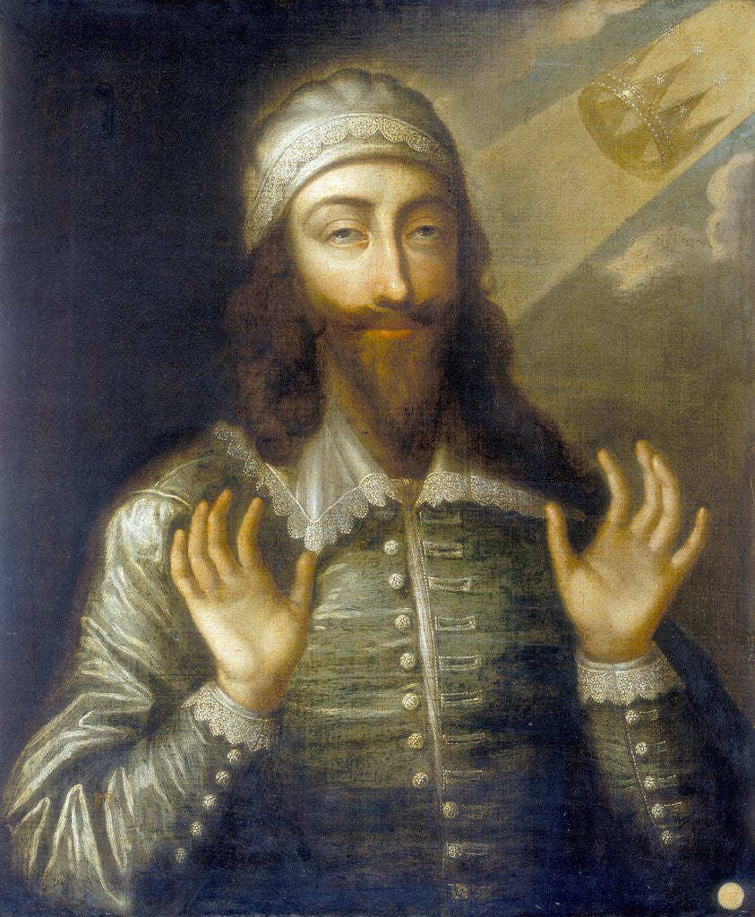 Detail of Portrait of Charles I as a Martyr King by Corbis
