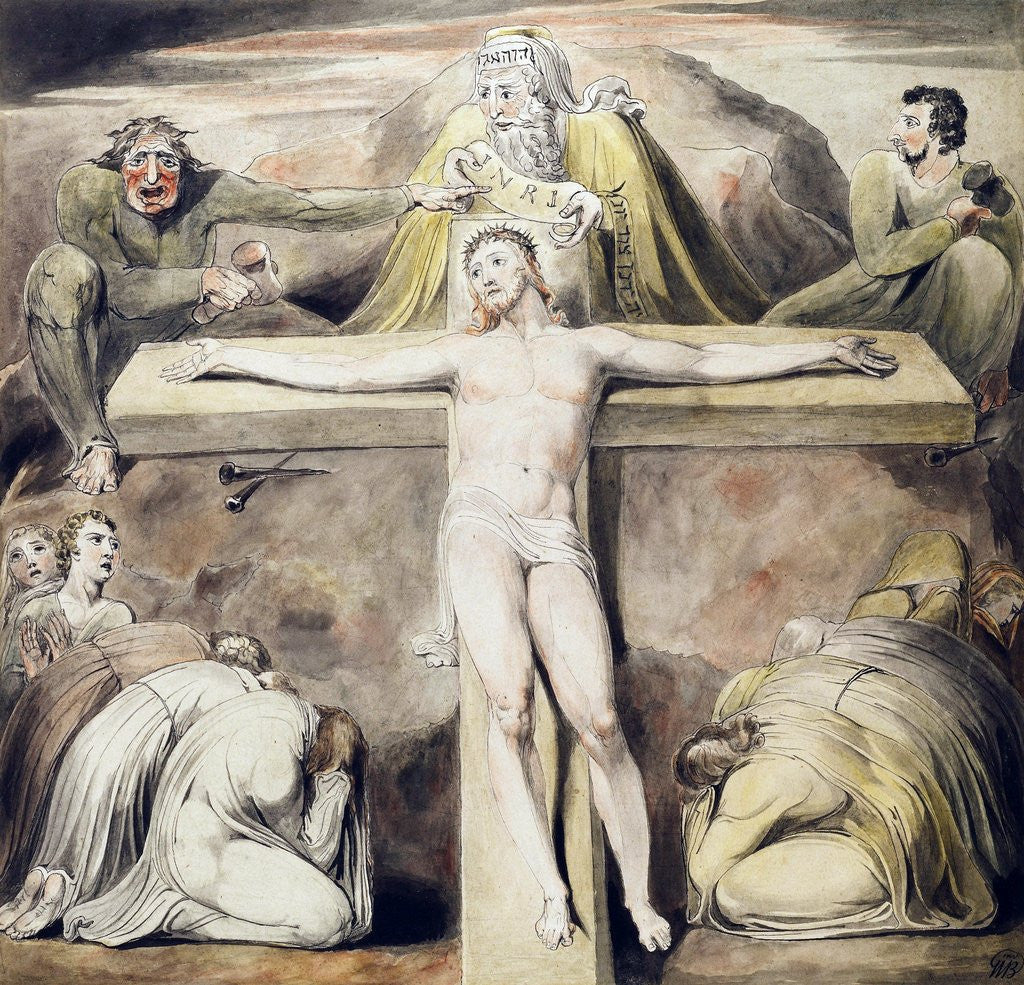 Christ Nailed to the Cross: The Third Hour posters & prints by ...