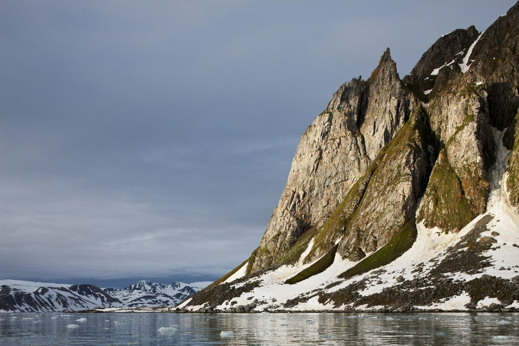 Detail of Arctic Landscape, Svalbard by Corbis