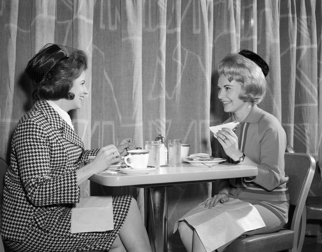 Image result for two women having lunch