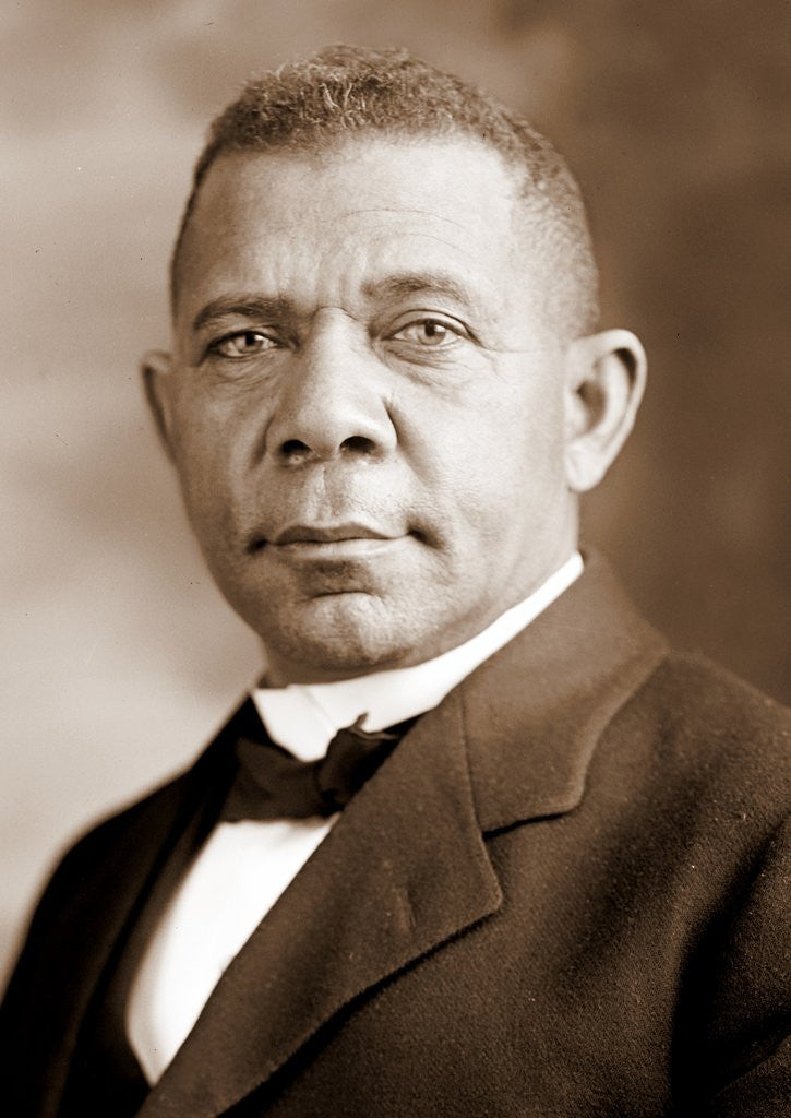 Detail of Booker T. Washington by Corbis