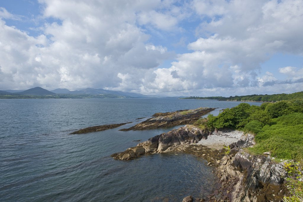 Detail of Coastline near Kenmare, Ring of Kerry, Kerry County, Ireland by Corbis