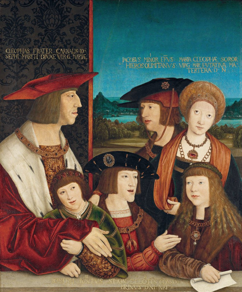 Detail of Emperor Maximilian I with His Family by Bernhard Strigel