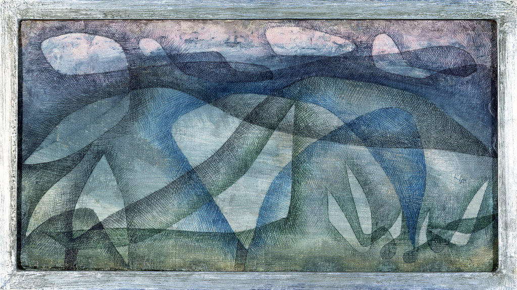 Detail of Rainy Day by Paul Klee