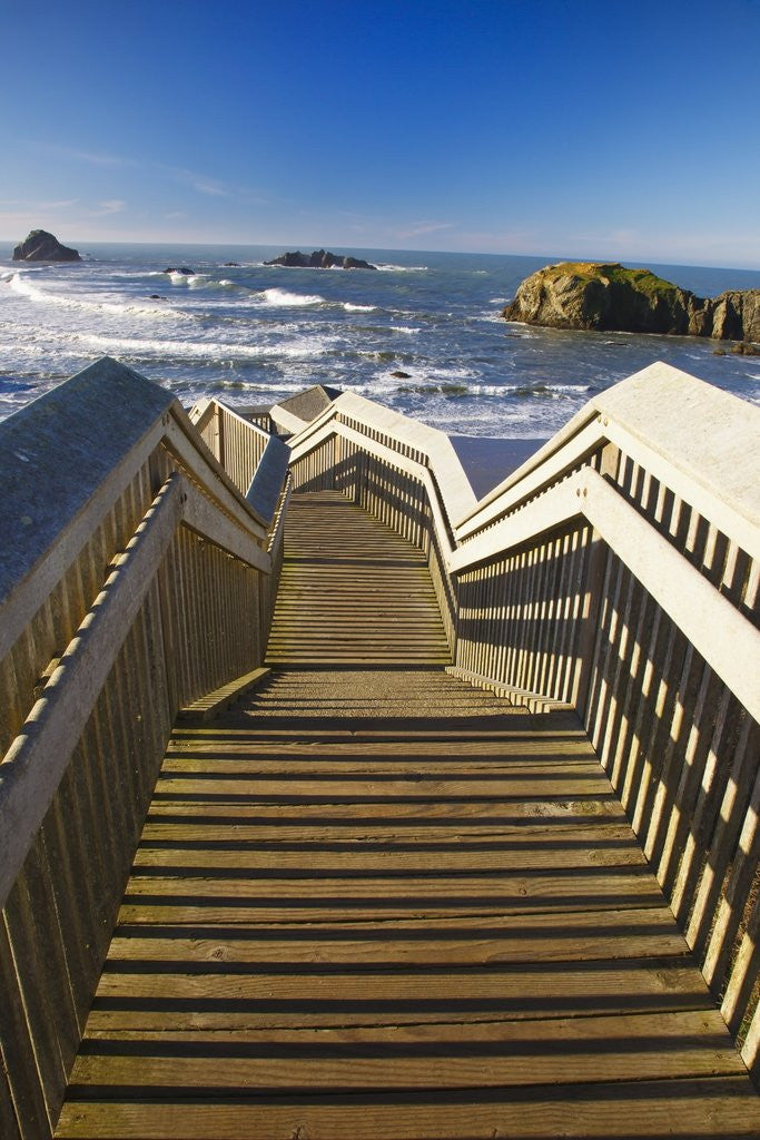 Detail of Bandon Beach, Oregon, USA by Corbis